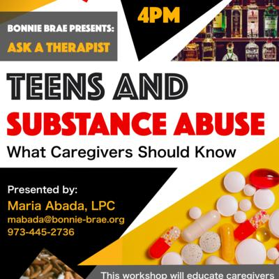 Teens and Substance Abuse